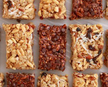 All Created - No Bake Granola Bars