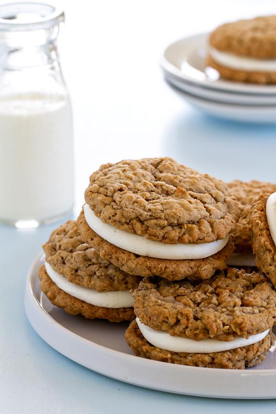 All Created - Homemade Oatmeal Cream Pies