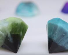 All Created - DIY Gemstone Soap
