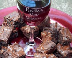 All Created - Red Wine Brownies