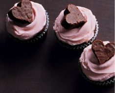 All Created - Chocolate Brownie Heart Cupcakes