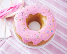 All Created - Super Giant Donut Cake