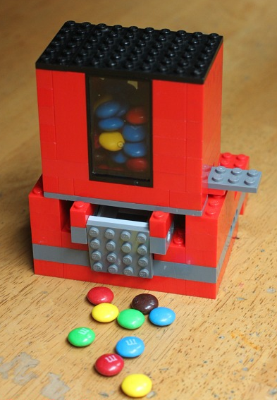 All Created - Lego Candy Dispenser