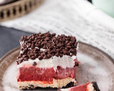 All Created - Red Velvet Dessert Lasagna