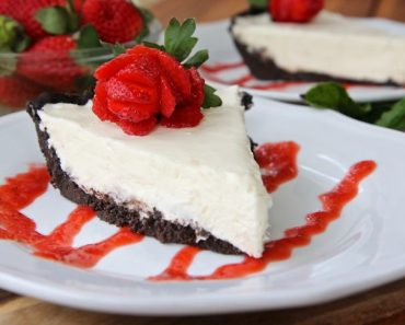 All Created - No Bake White Chocolate Cheesecake