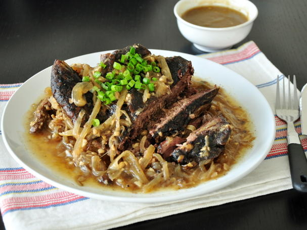 Beer and Garlic Slow Cooker Pot Roast Recipe _ allcreated