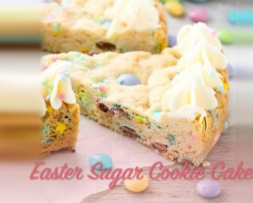 Easter Sugar Cookie Cake _ Recipes _ allcreated
