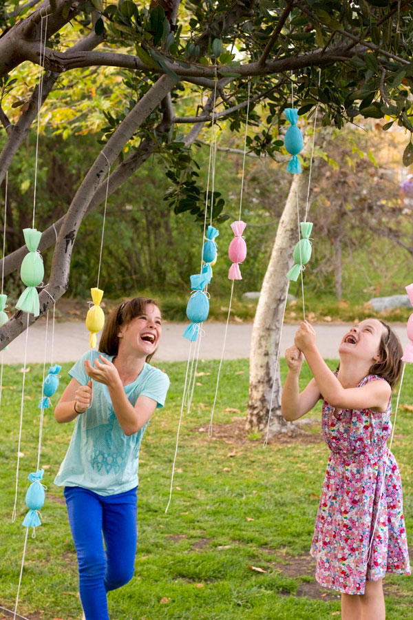 13 Cute And Thrifty DIY Easter Crafts For Your Home _ Egg Popper Tree _ all created