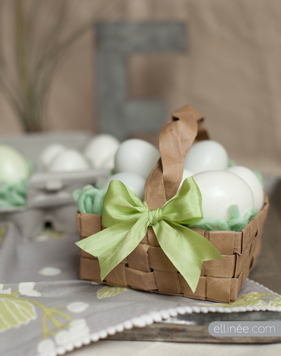 13 Cute And Thrifty DIY Easter Crafts For Your Home _ paper bag easter basket _ all created