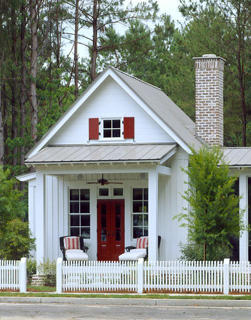 Captivating 12 Surprising Granny Pod Ideas For The Backyard_Granny Pod Red  Door_allcreated