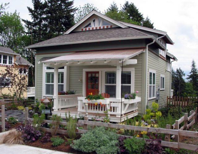 12 Surprising Granny Pod Ideas for the Backyard_Craftsman Granny Pod_allcreated
