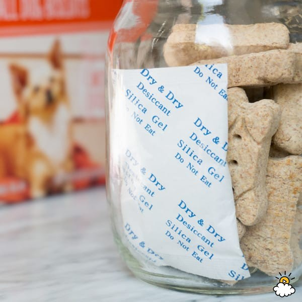 Disposable Silica Beads _ pet food storage _ allcreated