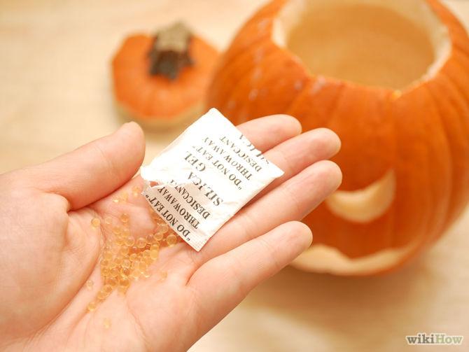 Disposable Silica Beads - stop pumpkin molding_allcreated