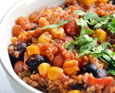 Tasty Vegetarian Quinoa Chili Recipe _ allcreated