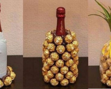 allcreated - wine and chocolate pineapple