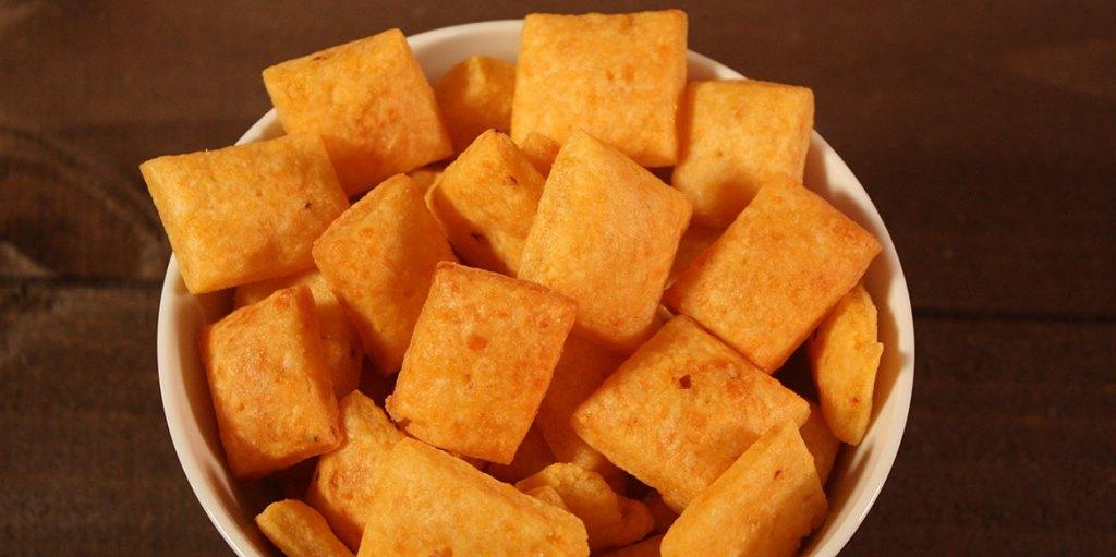 Easy Cheesy Crackers Recipe Spicy Kick _ all created