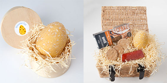 Cheester Egg for Easter Treat - cheese egg - allcreated