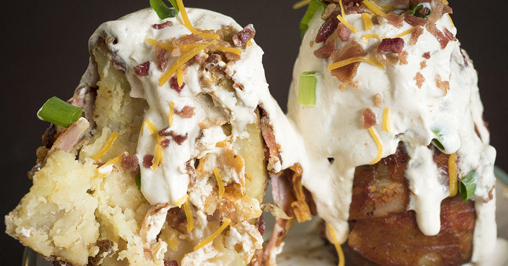 Savory Potato Volcanoes that You will Melt Over _ BBQ _ all created