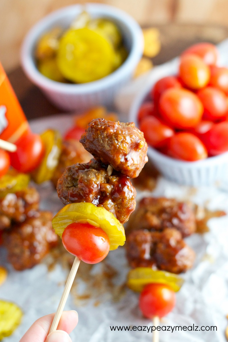 Bacon Cheeseburger Skewers _ BBQ _ all created