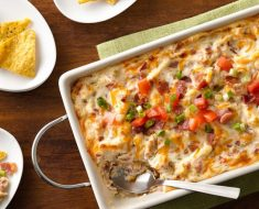 Baked BLT Dip _ Bacon _ all created