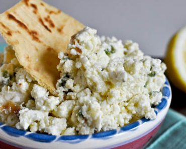 Creamy Jalapeno Feta Dip _ Pita Crackers _ garlic _ all created