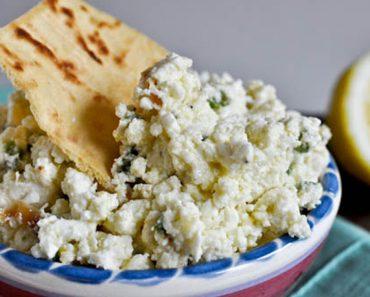 Creamy Jalapeno Feta Dip _ Pita Crackers _ garlic _ all created