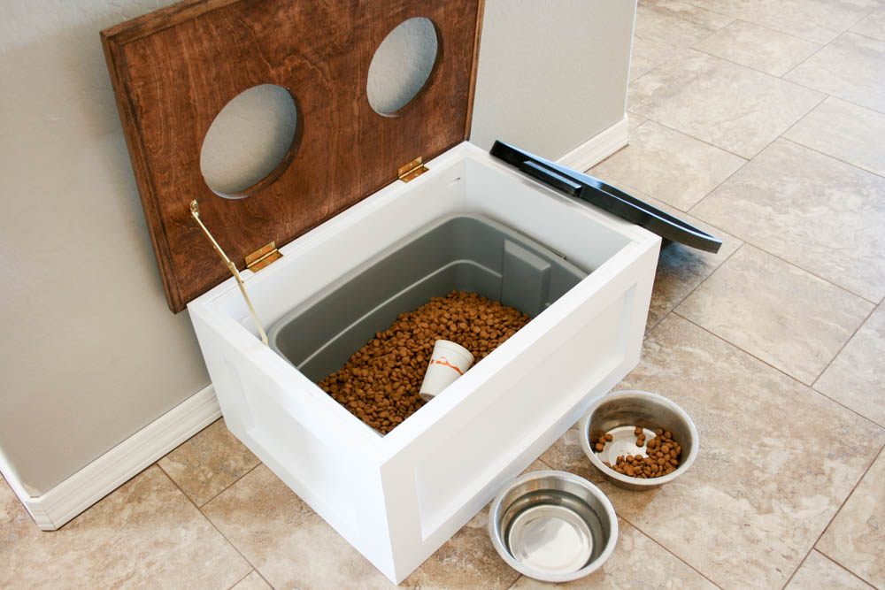 10 DIY Hacks to Give New Life to Old Furniture _ pet food storage _ all created