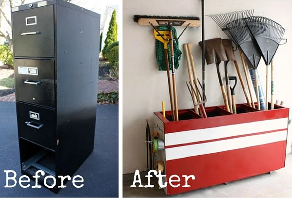 10 DIY Hacks to Give New Life to Old Furniture _ filing cabinet_ all created