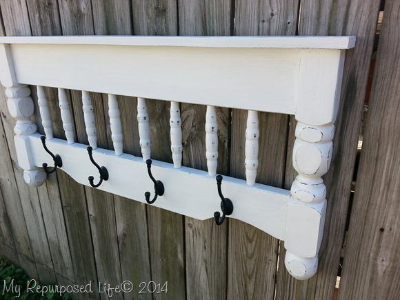 10 DIY Hacks to Give New Life to Old Furniture _ coat rack _ all created