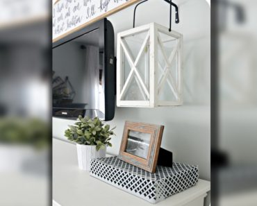 6 Crafty Ways to Hide Your Unattractive Cords And Other Electronics _ hidden cable box _ all created