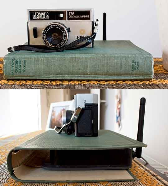 6 Crafty Ways to Hide Your Unattractive Cords And Other Electronics _ all created