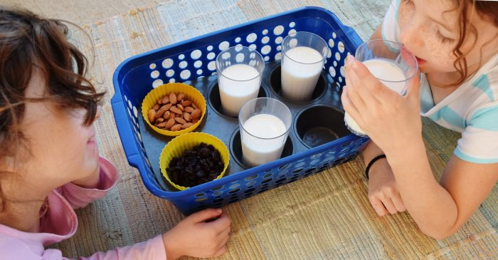 13 Brilliant Ways to Repurpose Your Ordinary Muffin Tin _ kids tv snack tray _ all created