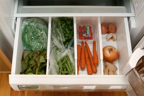 Wallet-Friendly Hacks to Organize Your Kitchen _ veggie storage _ allcreated