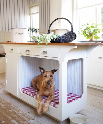 7 Creative Ways To Turn Old Furniture Into Adorable Pet Beds _ kitchen island _ all created