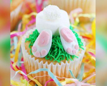 allcreated - bunny butt cupcakes