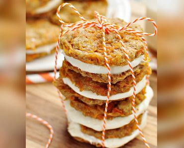 allcreated - carrot cake mini whoopie pies