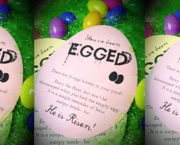 allcreated - easter egg hunt printable