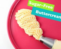 allcreated - sugar free buttercream