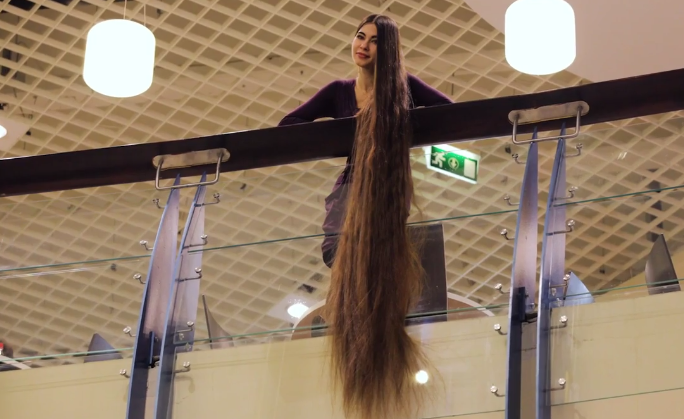allcreated - 7 feet of hair