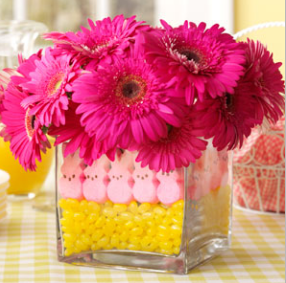 allcreated - peeps centerpiece