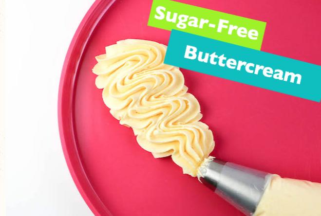 allcreated - sugar free buttercream