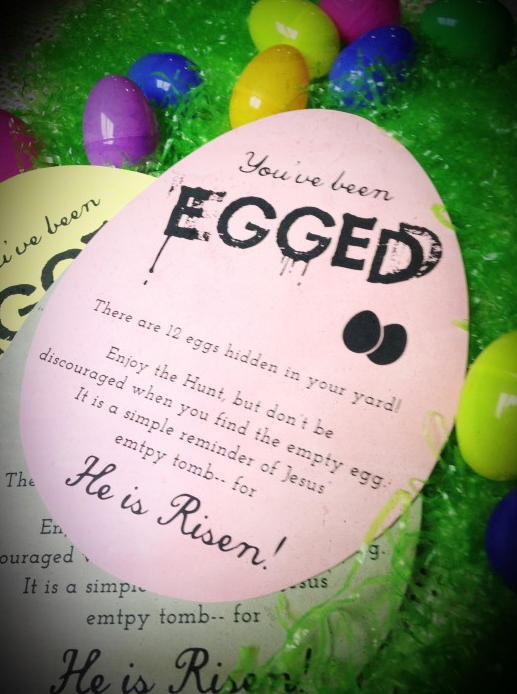 allcreated - Easter egg hunt printable game
