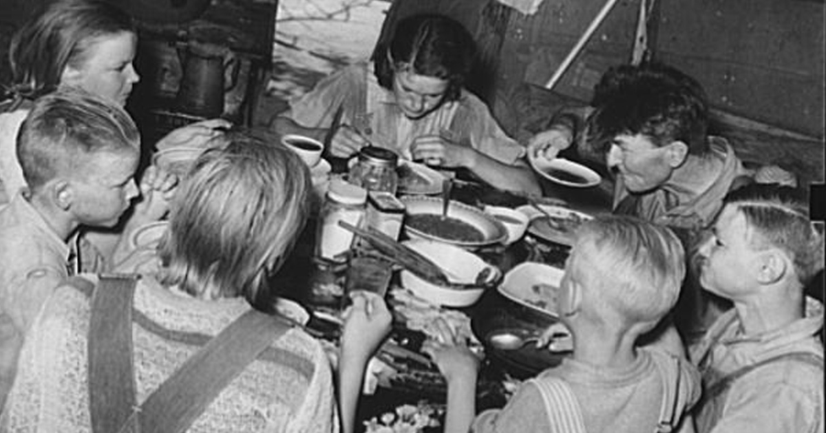 depression era recipes that won't break the bank _ family meal _ all created