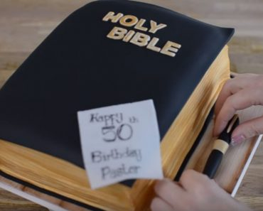 allcreated - bible cake tutorial