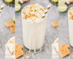 allcreated - coconut key lime pie boozy milkshake