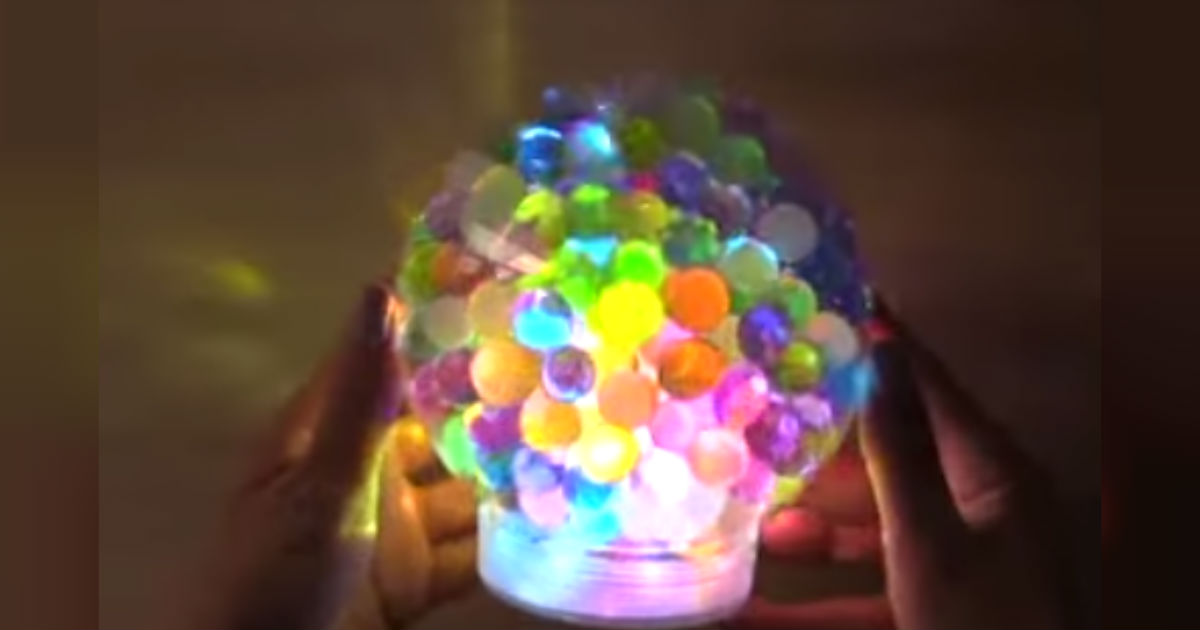 Diy Orbeez Light Adds Brightness And Flair To Your Space