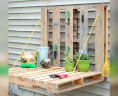 allcreated - diy pallet potting bench