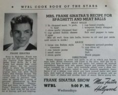 allcreated - frank sinatra's spaghetti and meatballs recipe