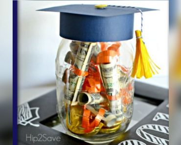 allcreated - graduation cap money jar