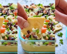 allcreated - greek layer dip